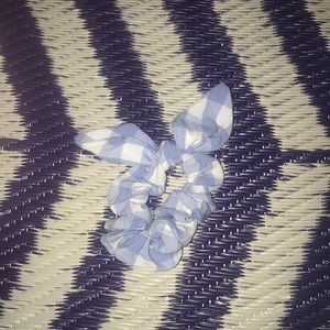Icing Accessories - 2 pack of plaid bow scrunchies